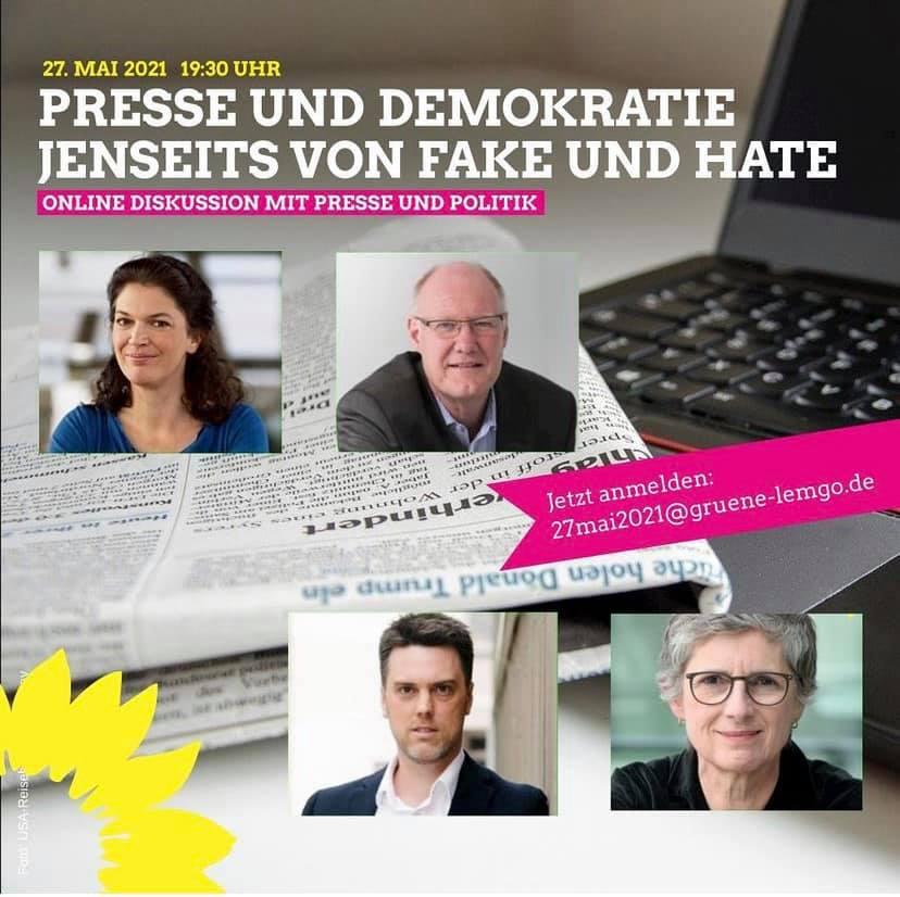 Presse und Demokratie jenseits von Fake und Hate